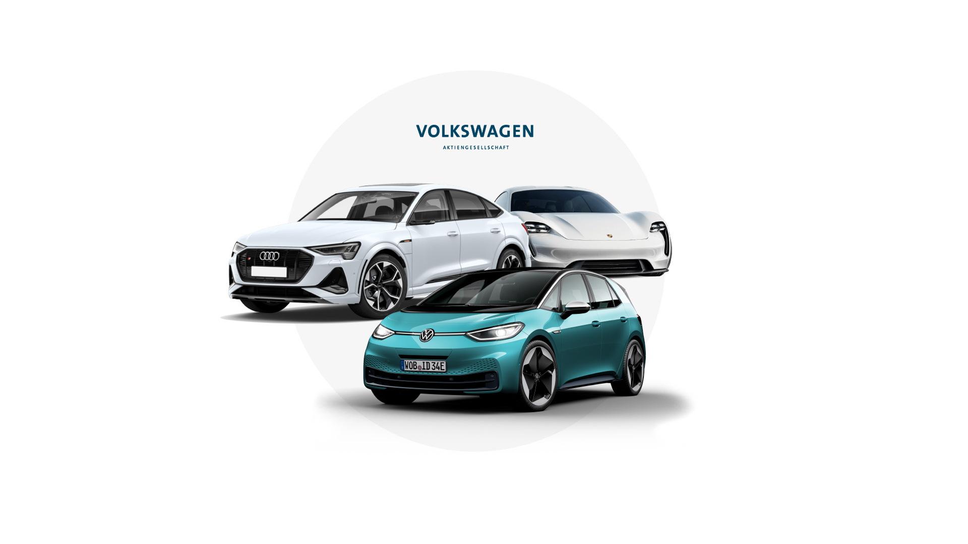 Volkswagen Group electric vehicles in 2020
