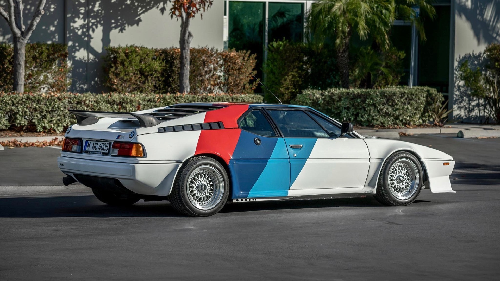1980 BMW M1 AHG owned by Paul Walker (Photo by Bring a Trailer)