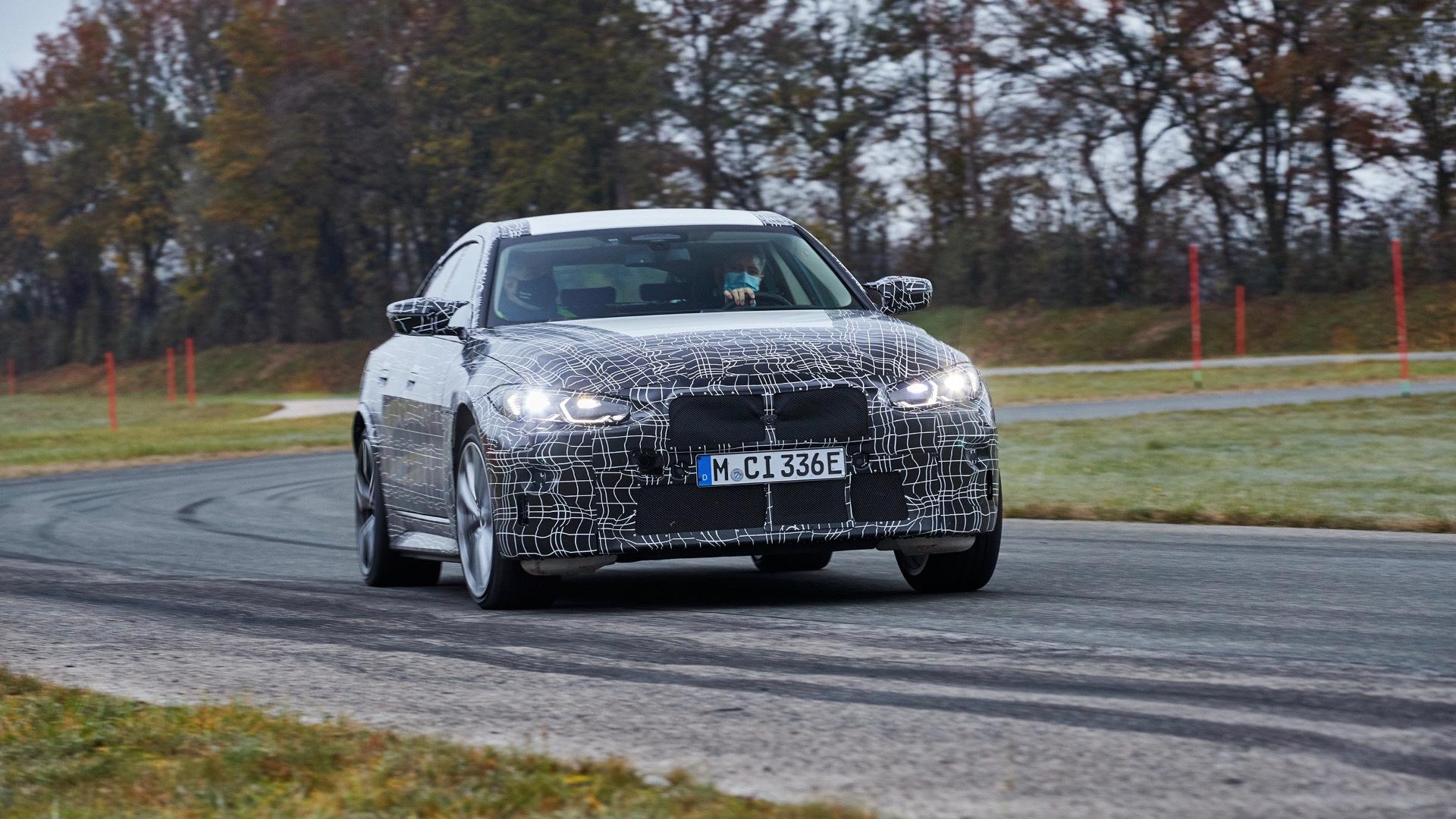 2022 BMW i4 testing