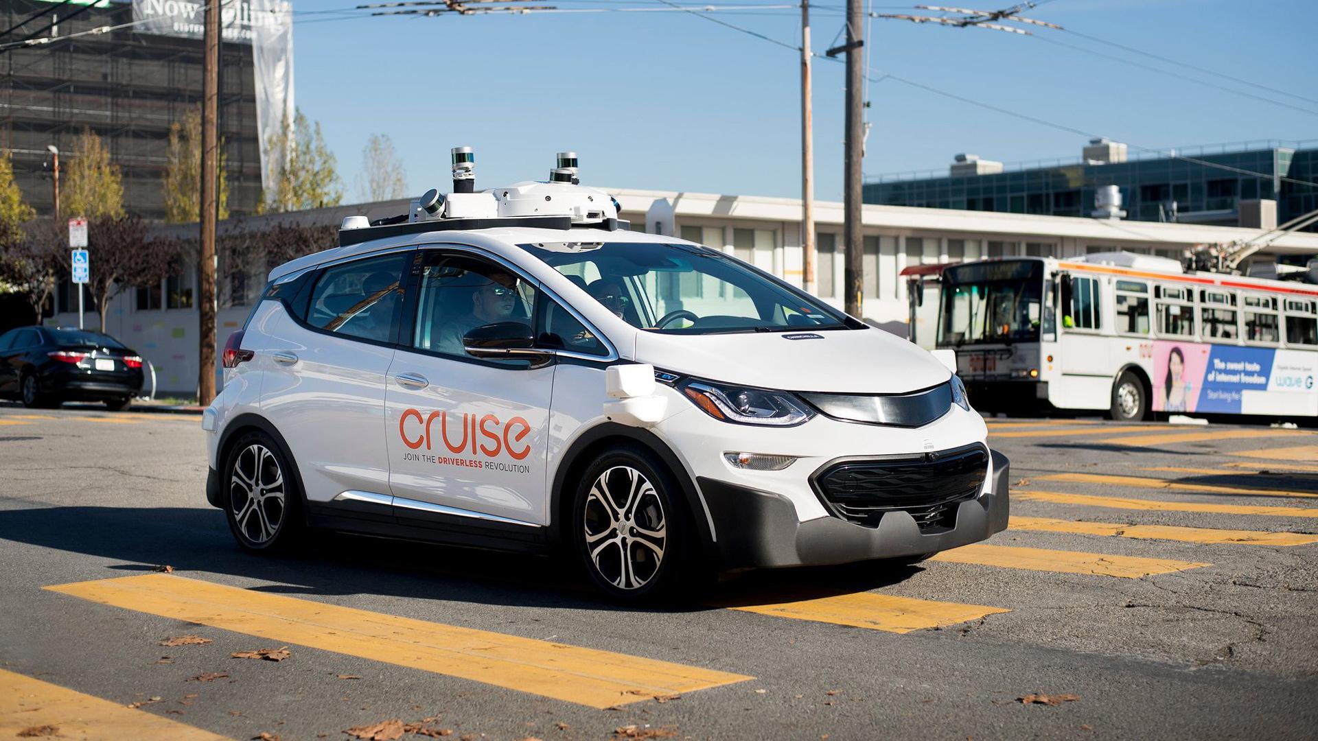 Cruise self-driving car prototype