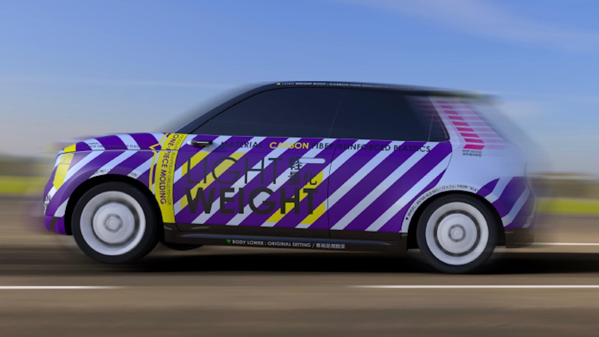 Honda E-Drag concept