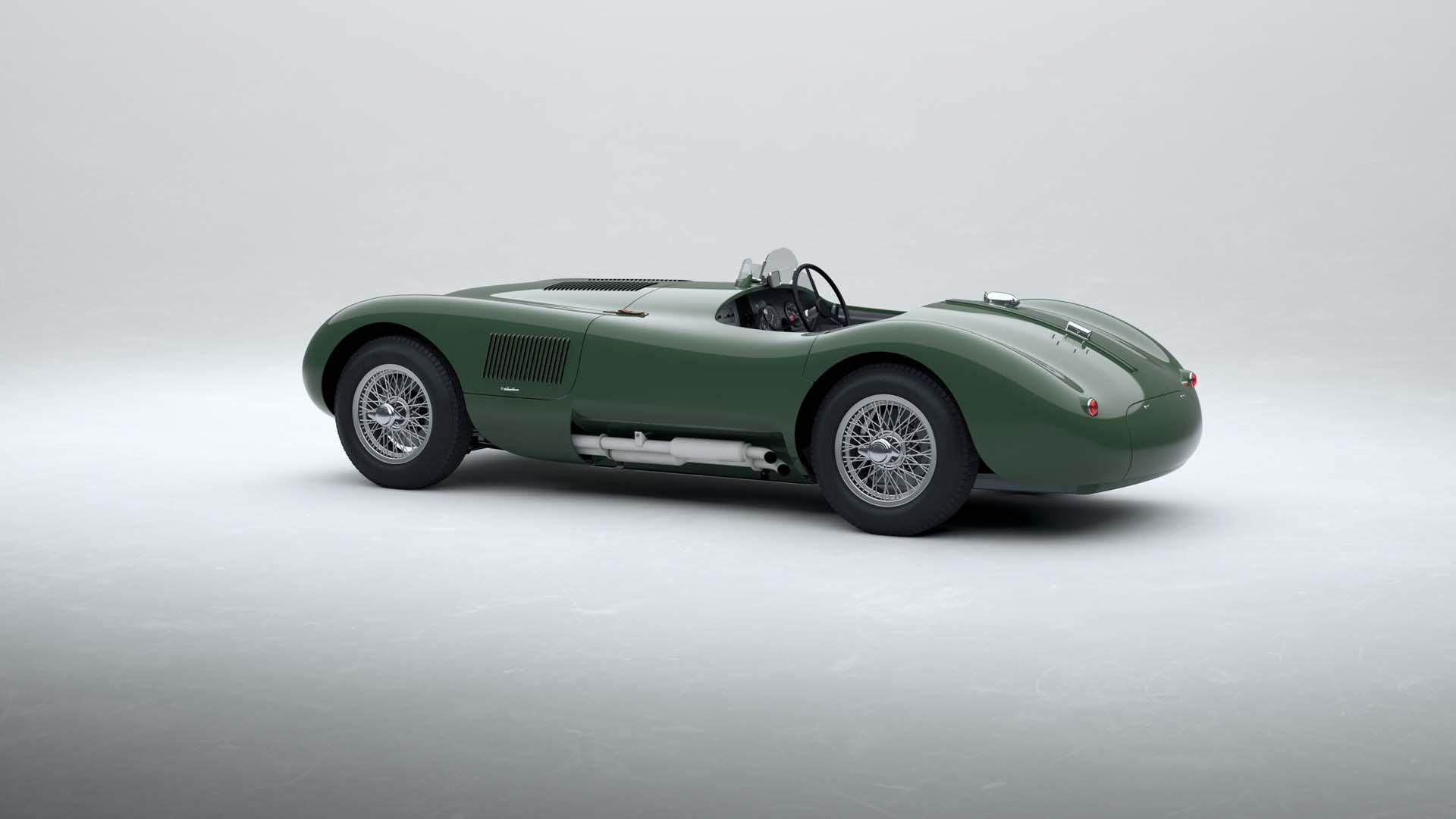 Jaguar C-Type continuation cars