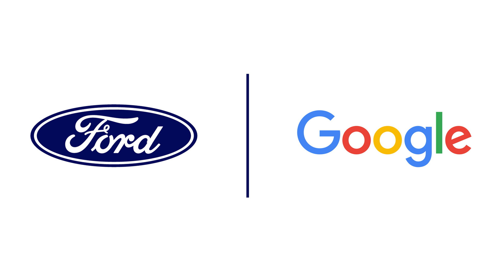 Ford and Google logos