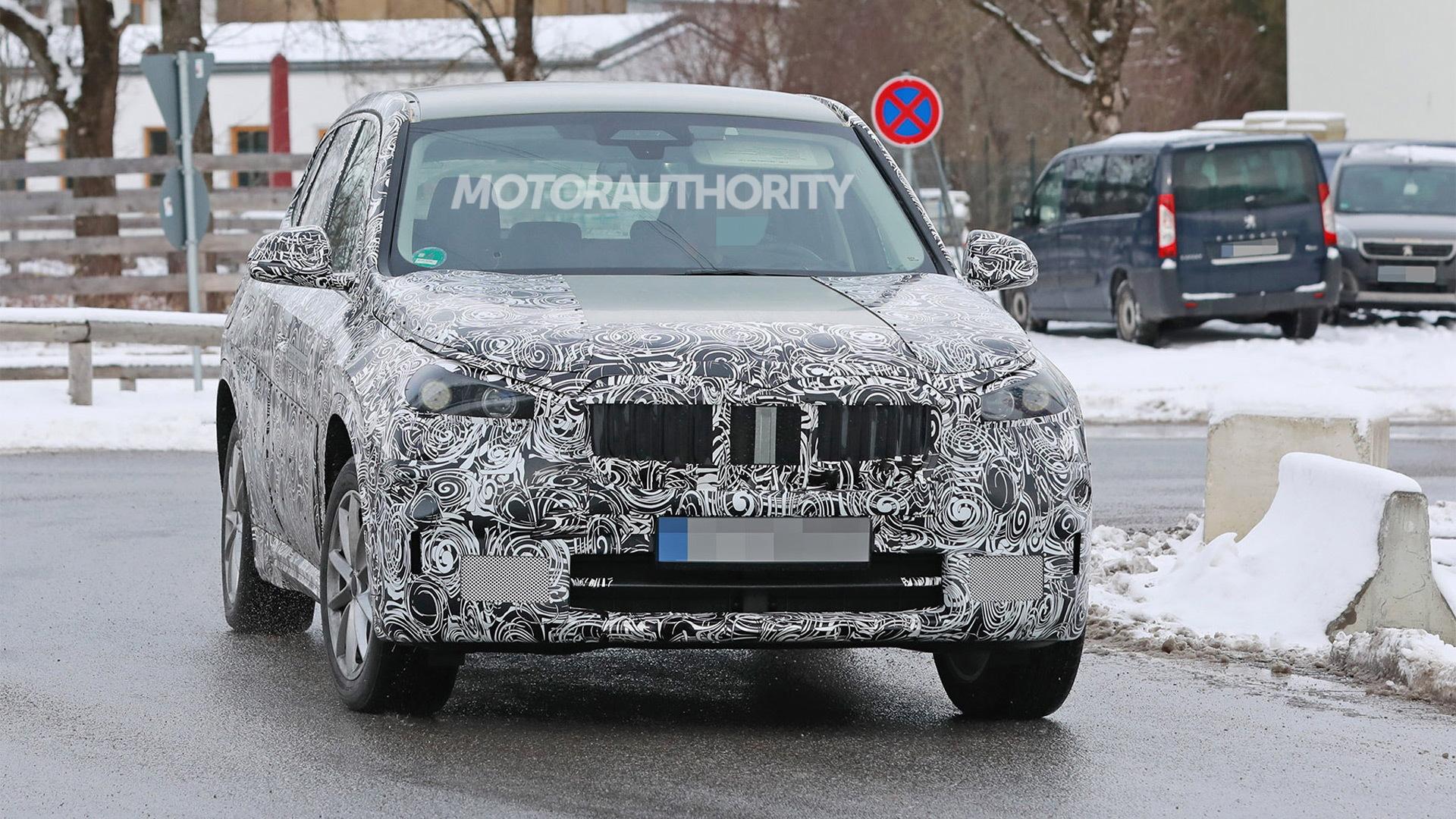 2023 BMW iX1 spy shots - Photo credit:S. Baldauf/SB-Medien