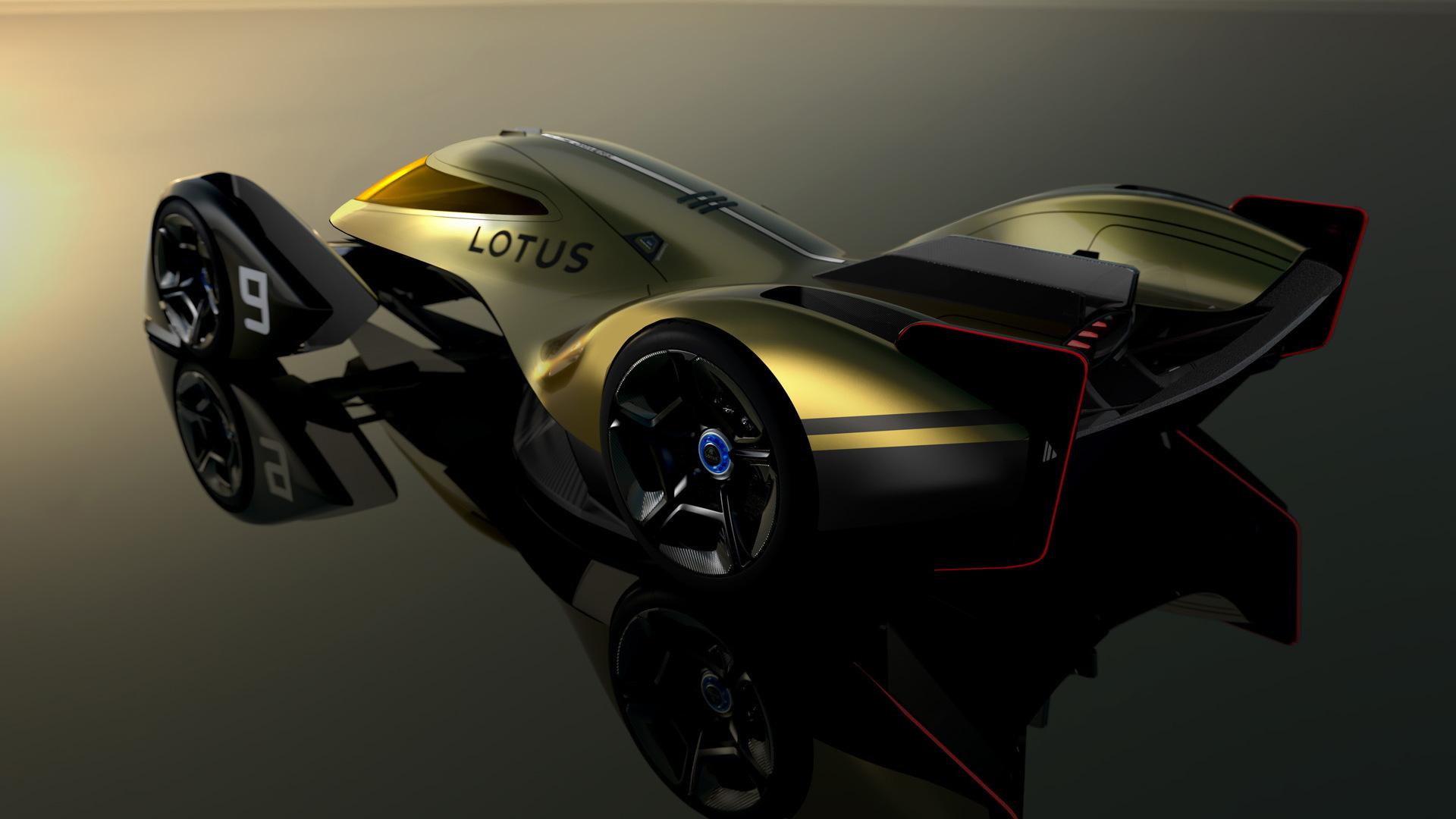 Lotus E-R9 endurance race car concept