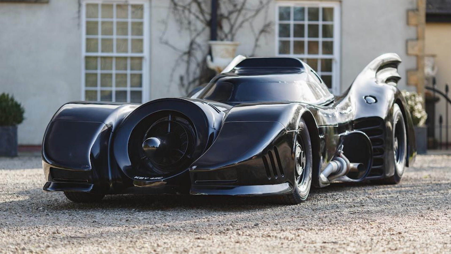 Batmobile recreation (Photo by Bonhams)