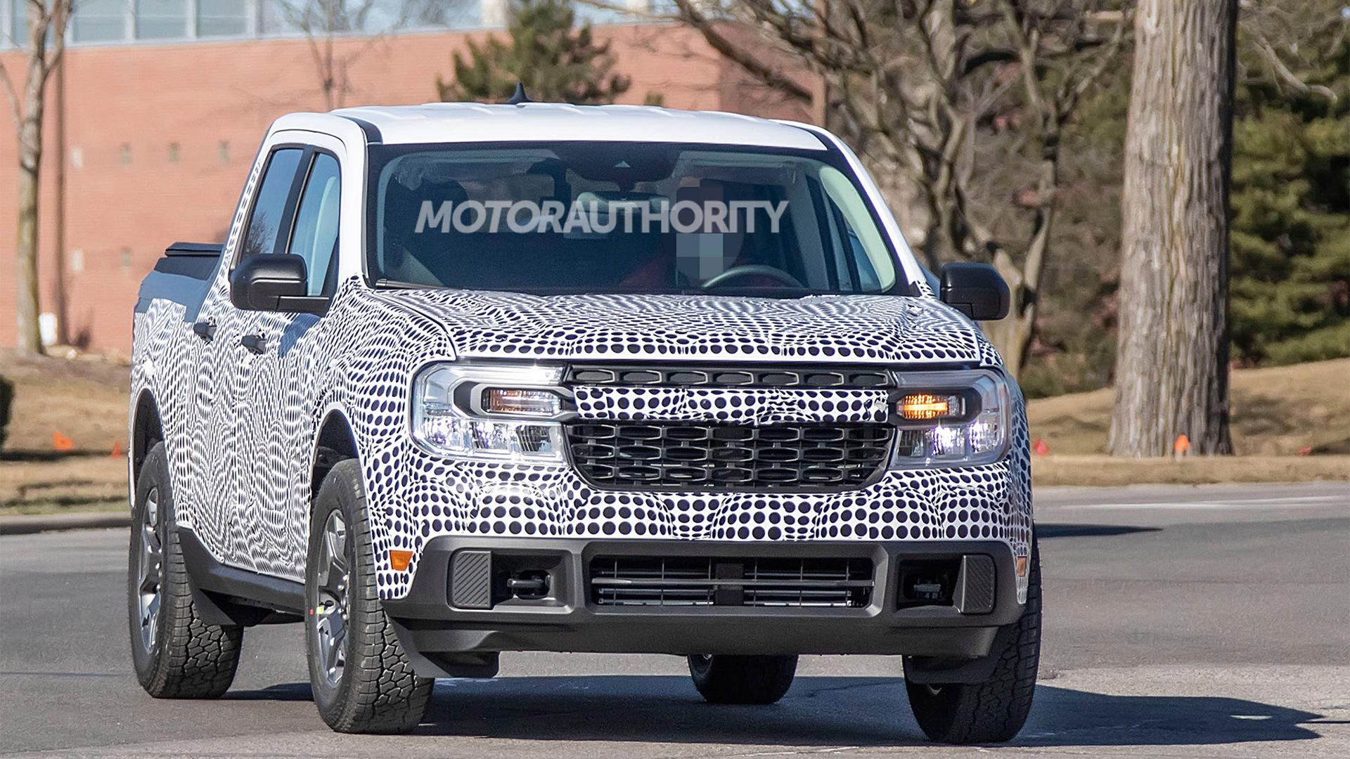 2022 Ford Maverick spy shots - Photo credit:S. Baldauf/SB-Medien