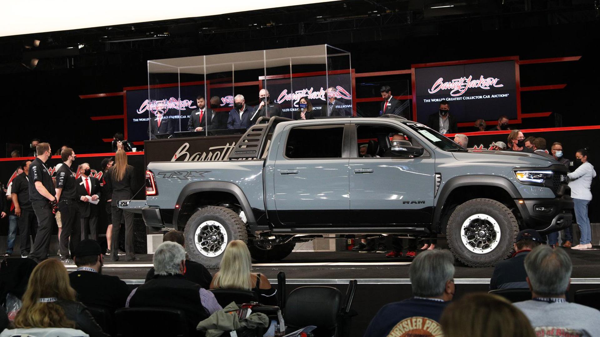 2021 Ram 1500 TRX bearing VIN 001 at Barrett-Jackson auction