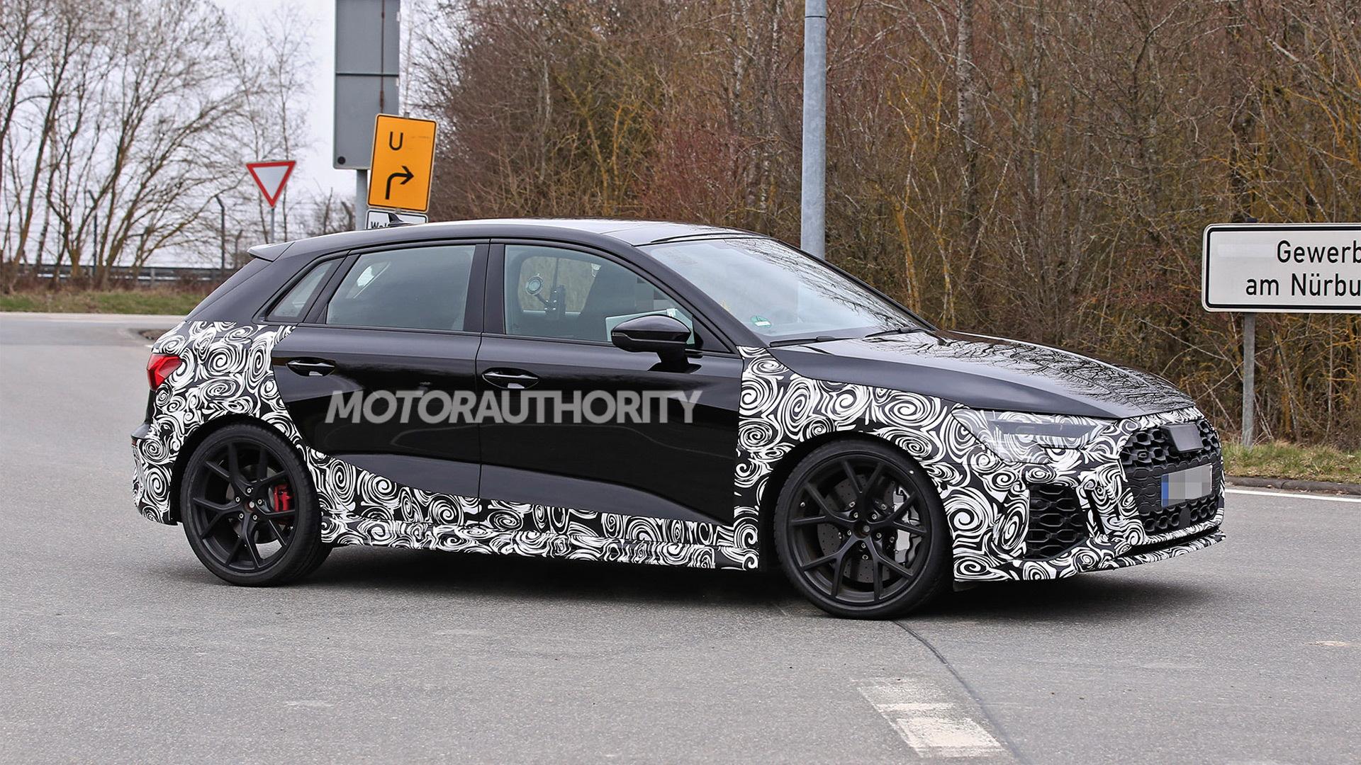 2022 Audi RS 3 Sportback spy shots - Photo credit: S. Baldauf/SB-Medien