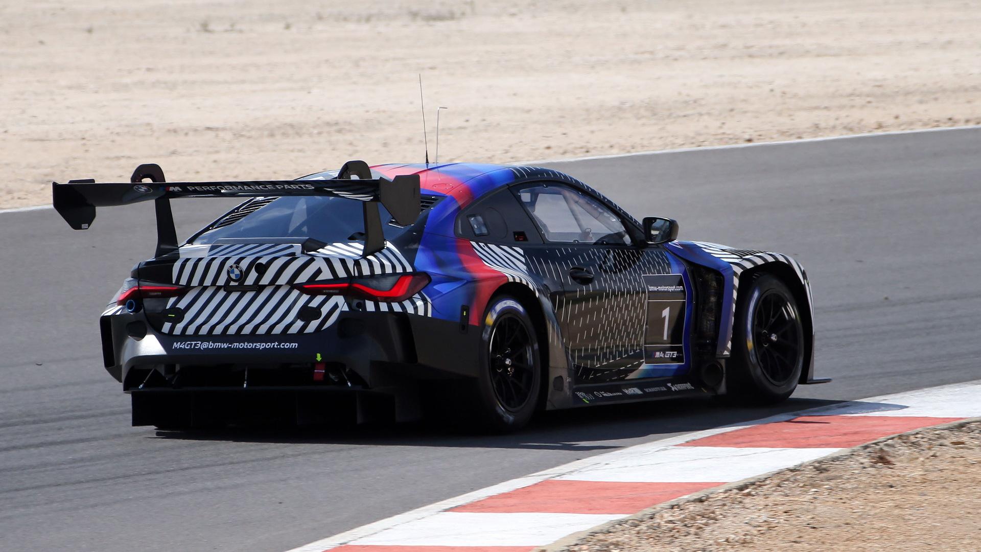 2022 BMW M4 GT3 race car prototype