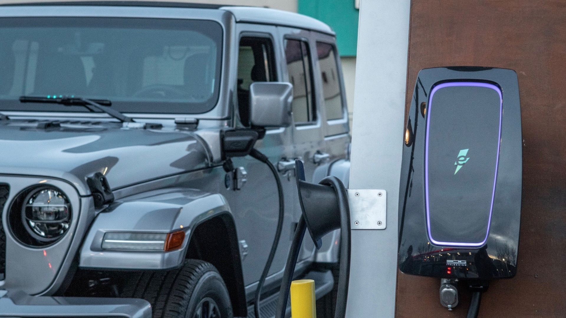 Electrify America Jeep 4xe Charging Network