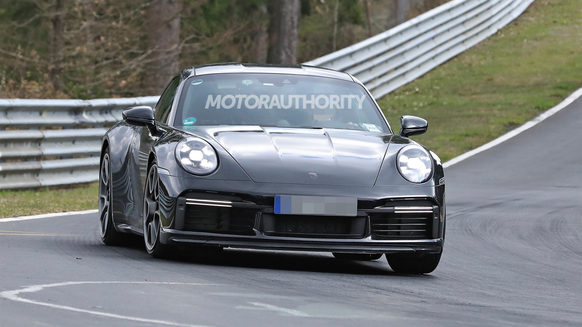 2022 Porsche 911 Sport Classic spy shots - Photo credit: S. Baldauf/SB-Medien