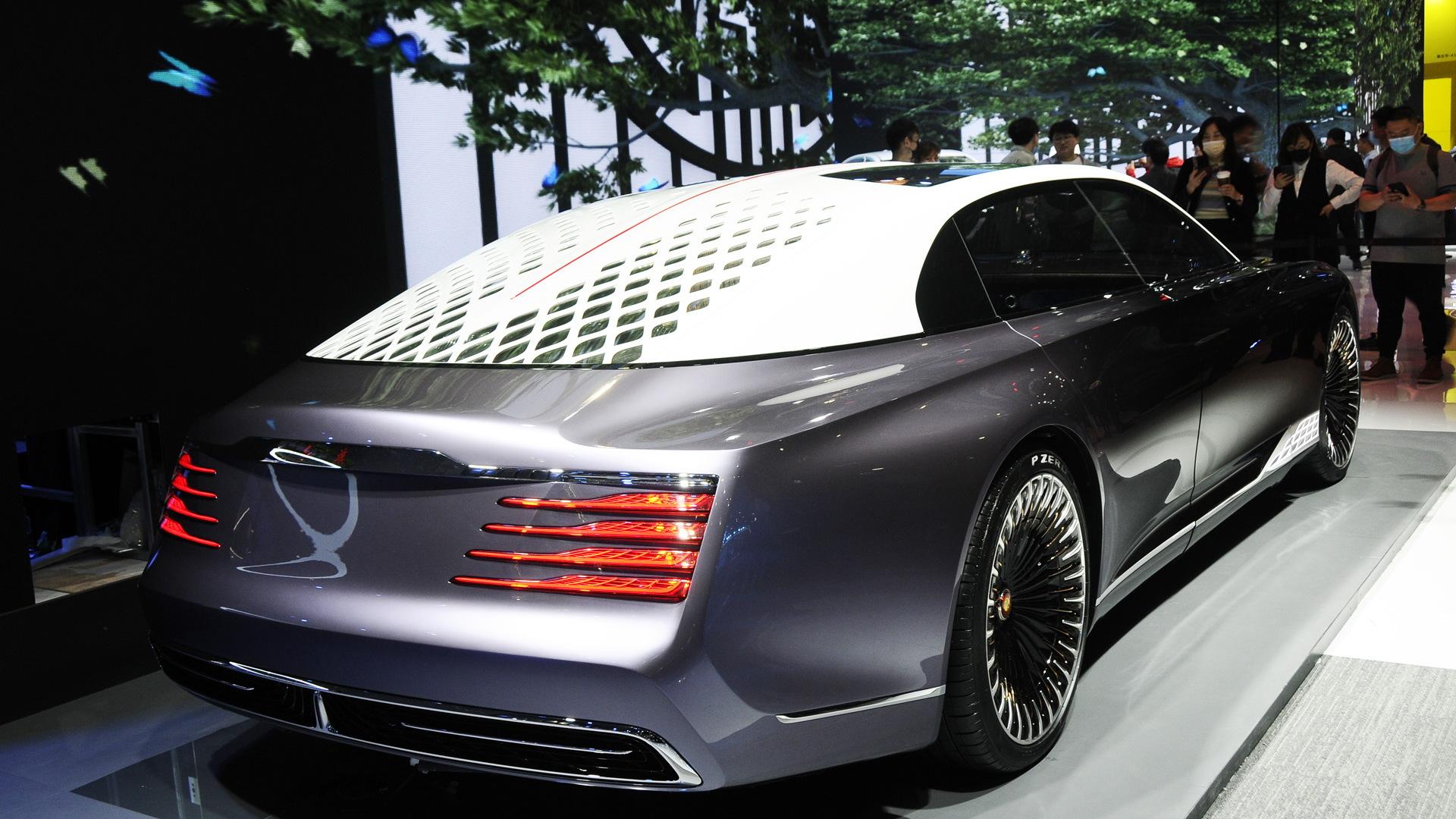 Hongqi L-Concept - 2021 Shanghai auto show