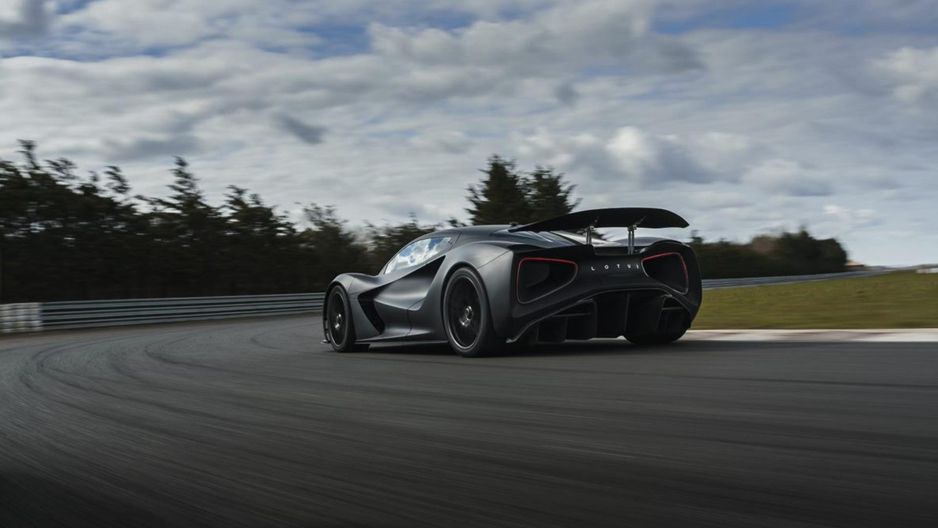 Lotus Evija prototype