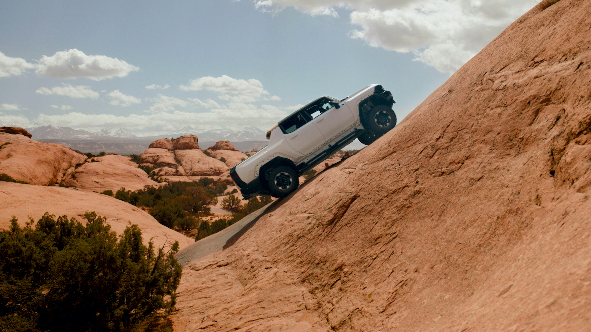 2022 GMC Hummer EV prototype testing in Moab