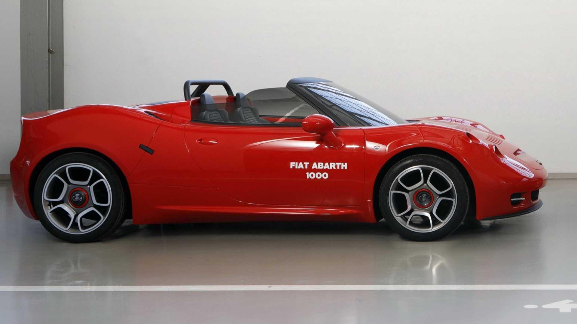 Fiat Abarth 1000 SP concept