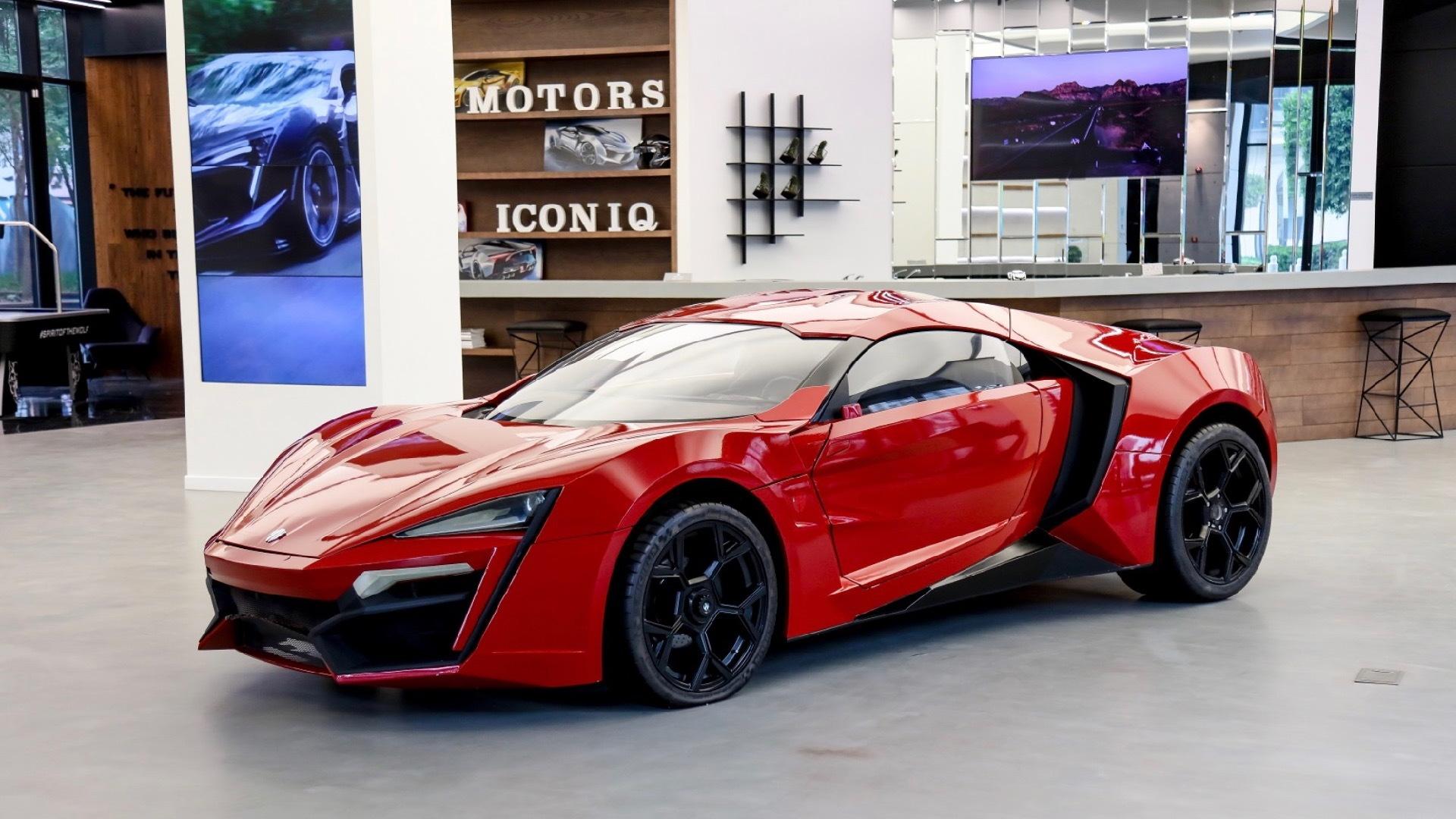 "Lykan HyperSport stunt car from ""Furious 7"""
