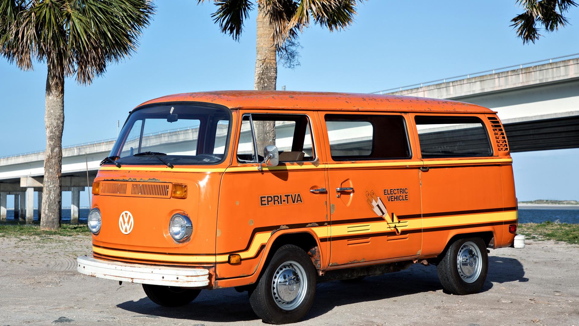 1978 Volkswagen Elektrotransporter prototype