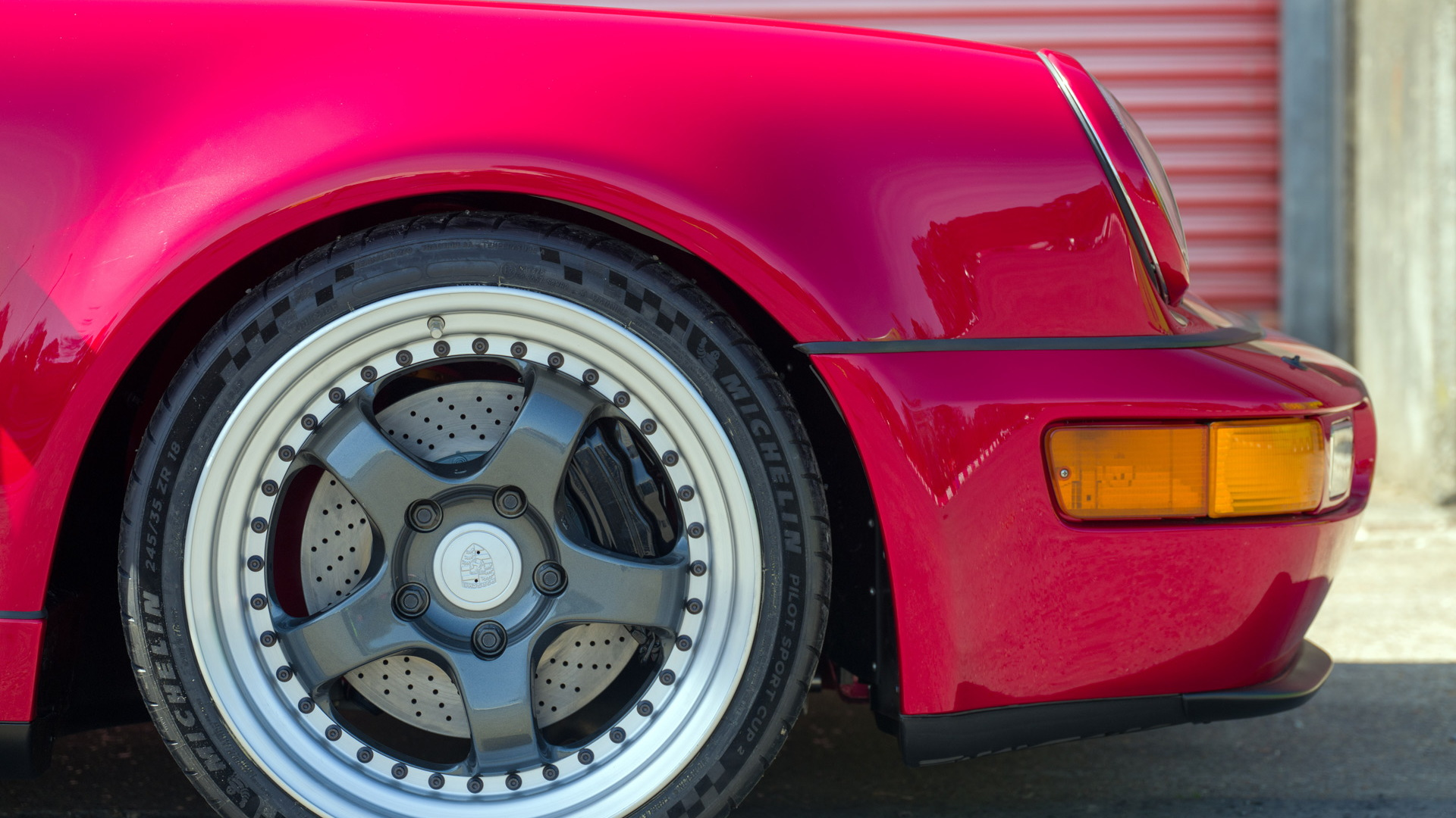 1991 Porsche 911 electric conversion by Everrati