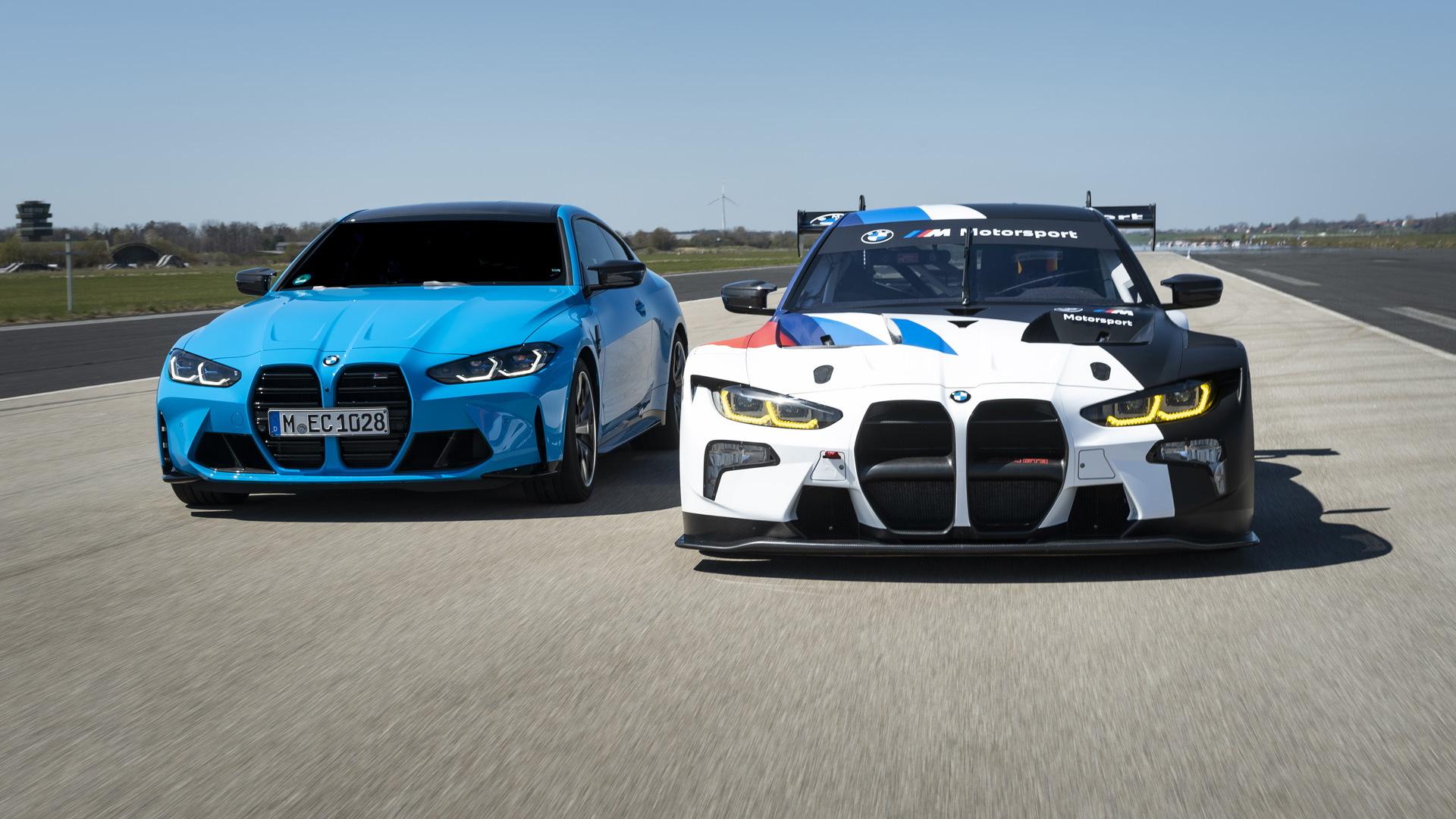 2022 BMW M4 GT3 race car