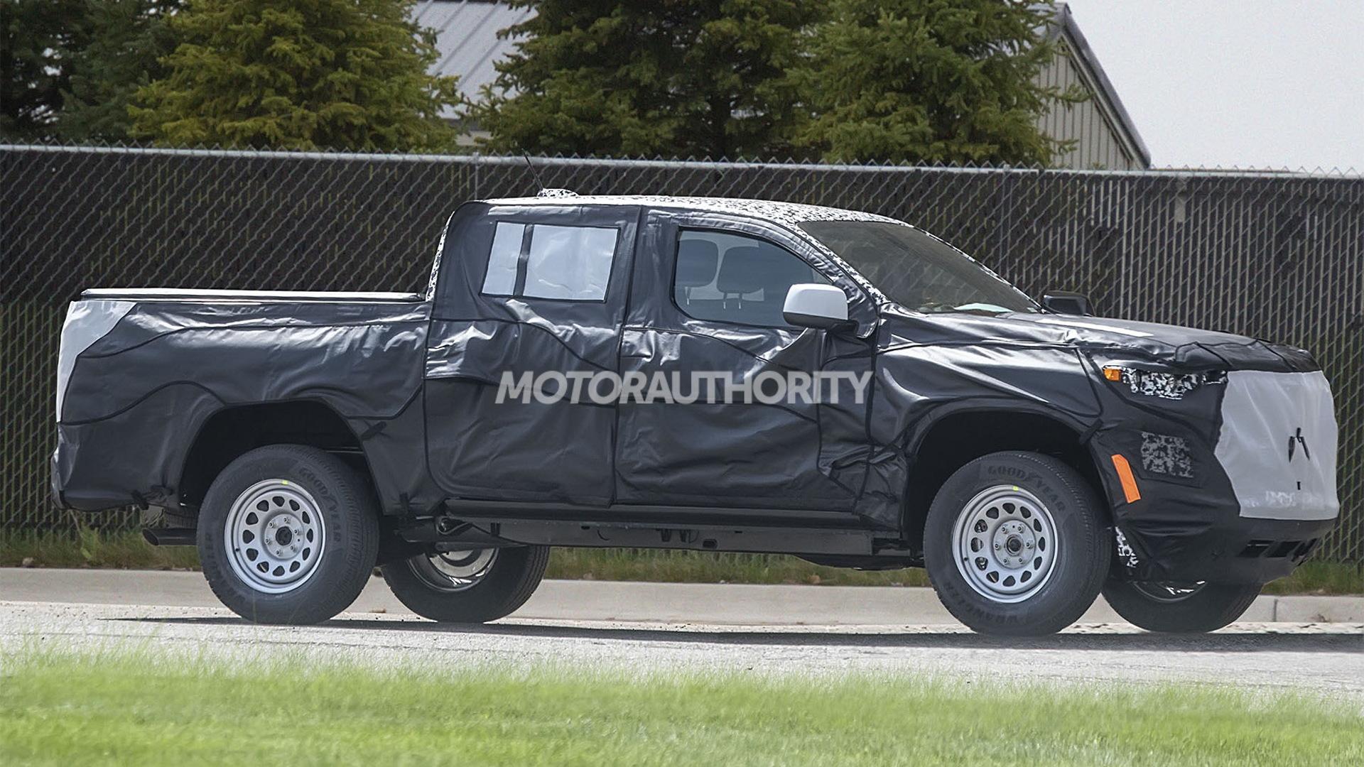 2023 Chevrolet Colorado spy shots - Photo credit:S. Baldauf/SB-Medien