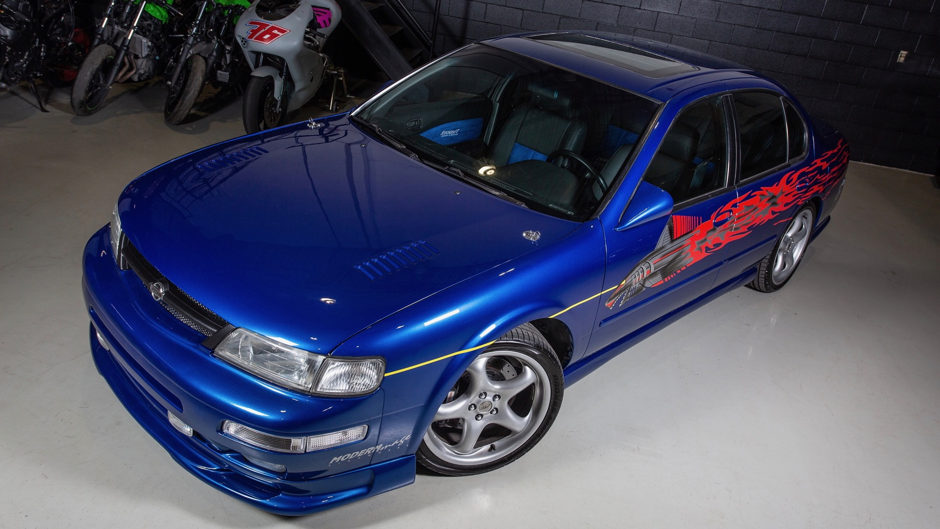 """Replica of Vince's Nissan Maxima from """"The Fast and the Furious"""" (photo via Dominic Dubreuil)"""