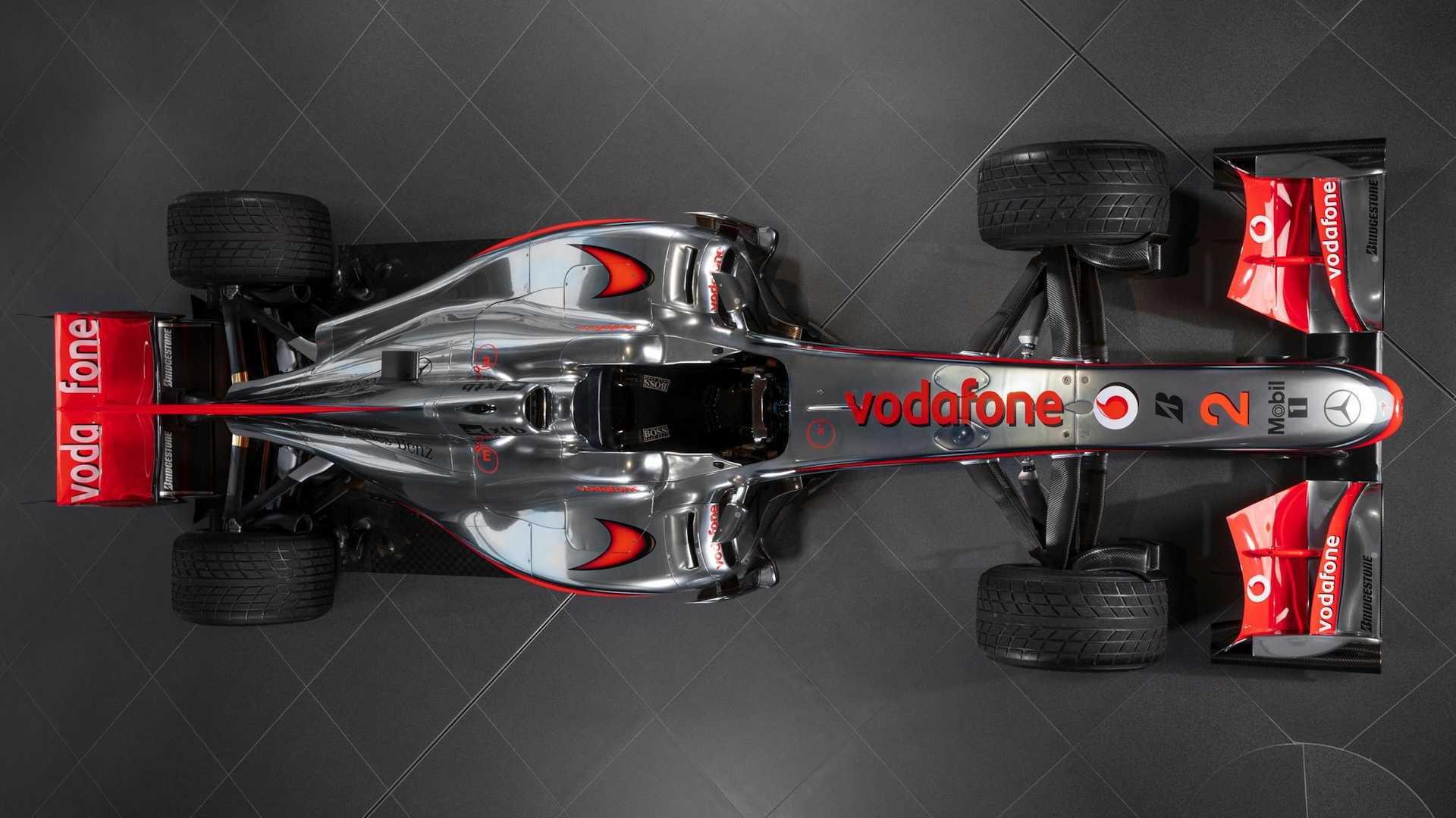 2010 McLaren MP4-25 Formula One car driven by Lewis Hamilton - Photo credit: RM Sotheby's