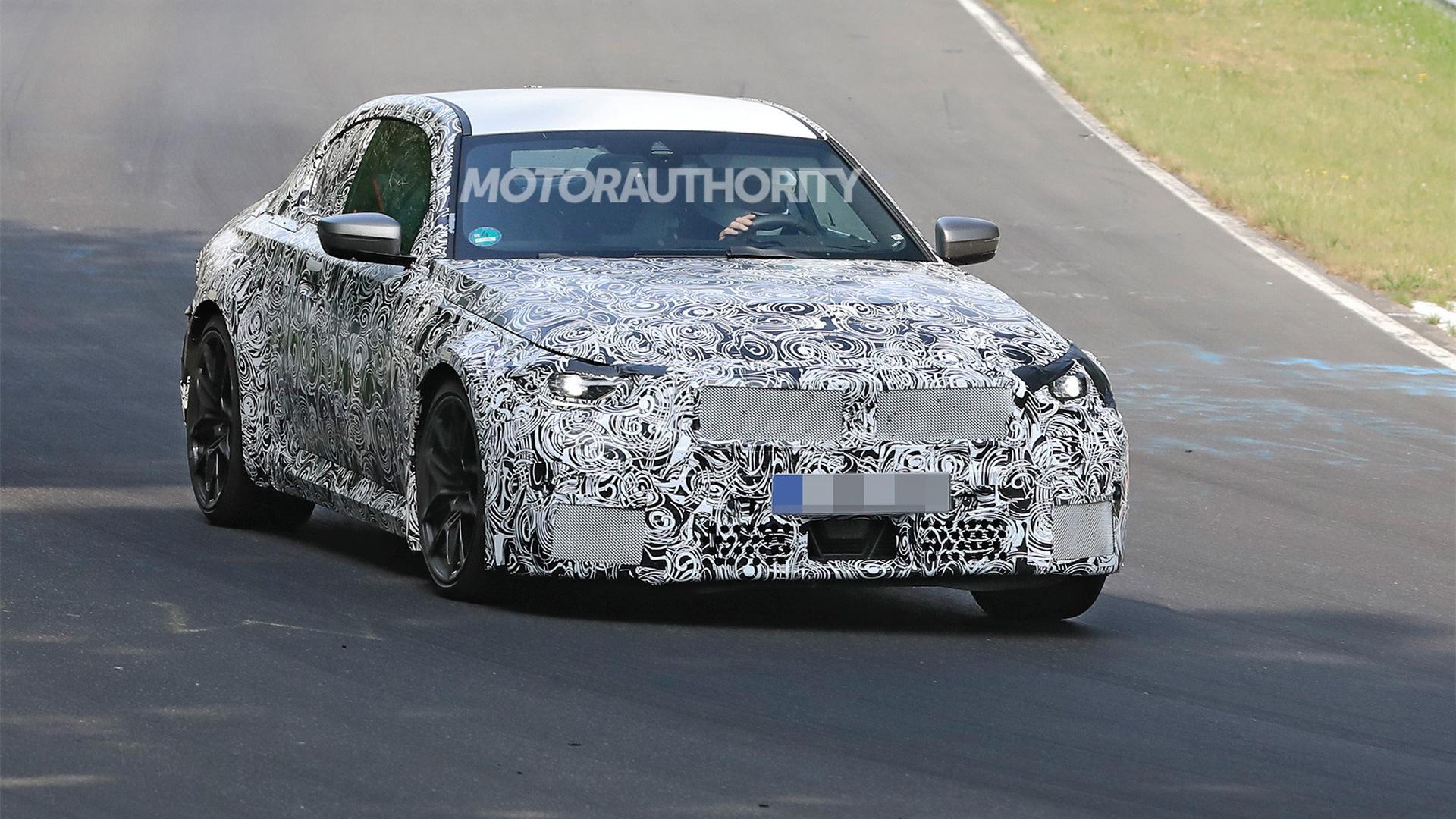 2023 BMW M2 spy shots - Photo credit: S. Baldauf/SB-Medien