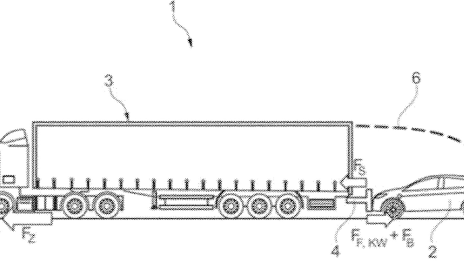 Ford patent for charging EVs when towed