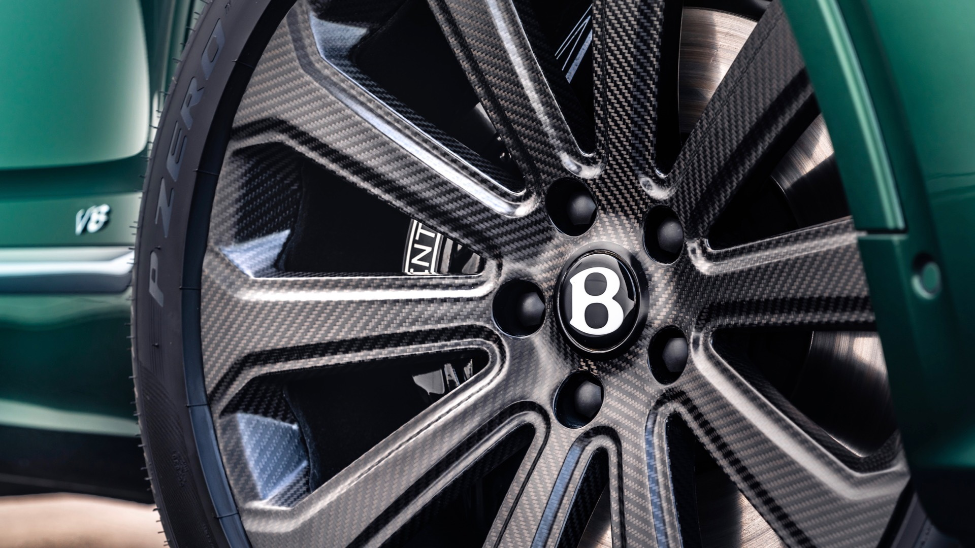 Bentley Bentayga carbon-fiber wheels