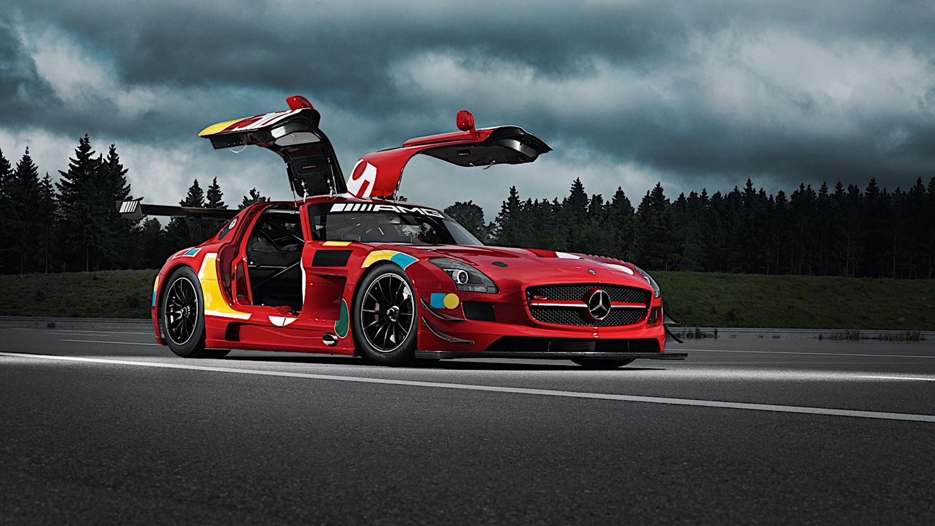 Mercedes-Benz AMG 50 Years Legend of Spa collection