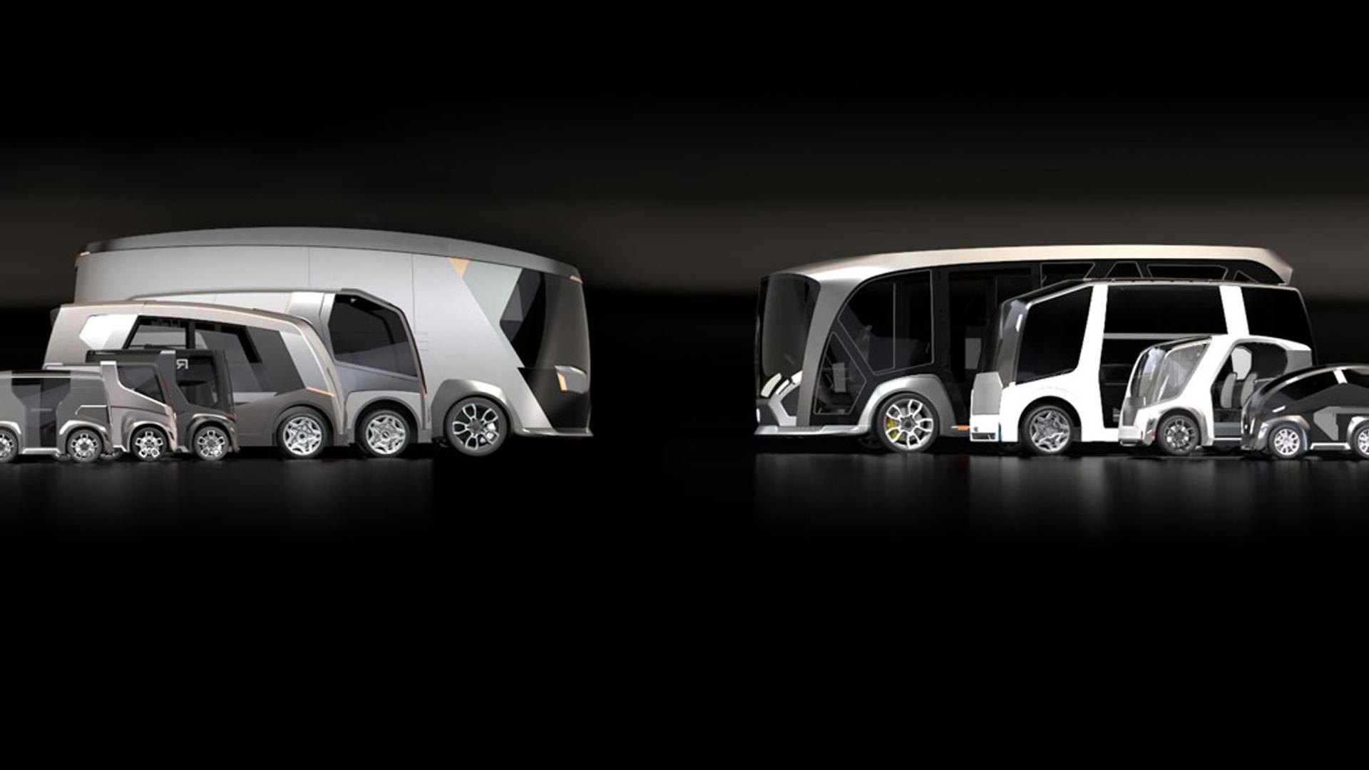 Potential vehicles based on REE modular EV platform
