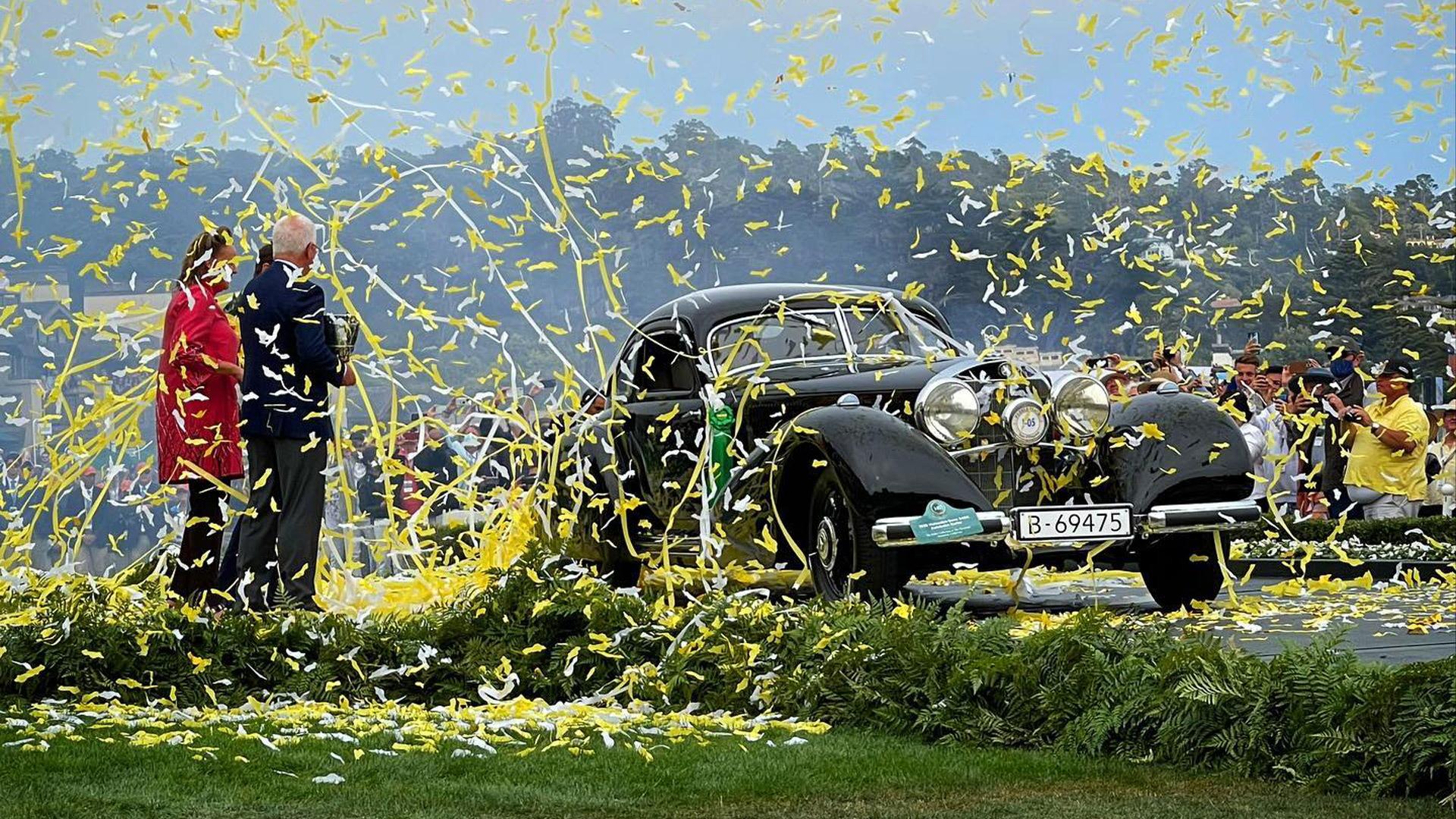 1938 Mercedes-Benz 540K Autobahn-Kurier - 2021 Pebble Beach Concours d'Elegance