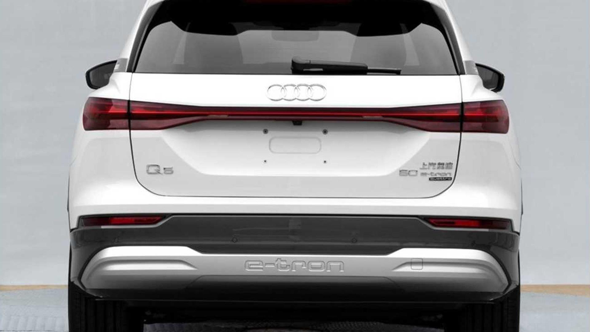 2022 Audi Q5 E-Tron - Photo credit: Autohome