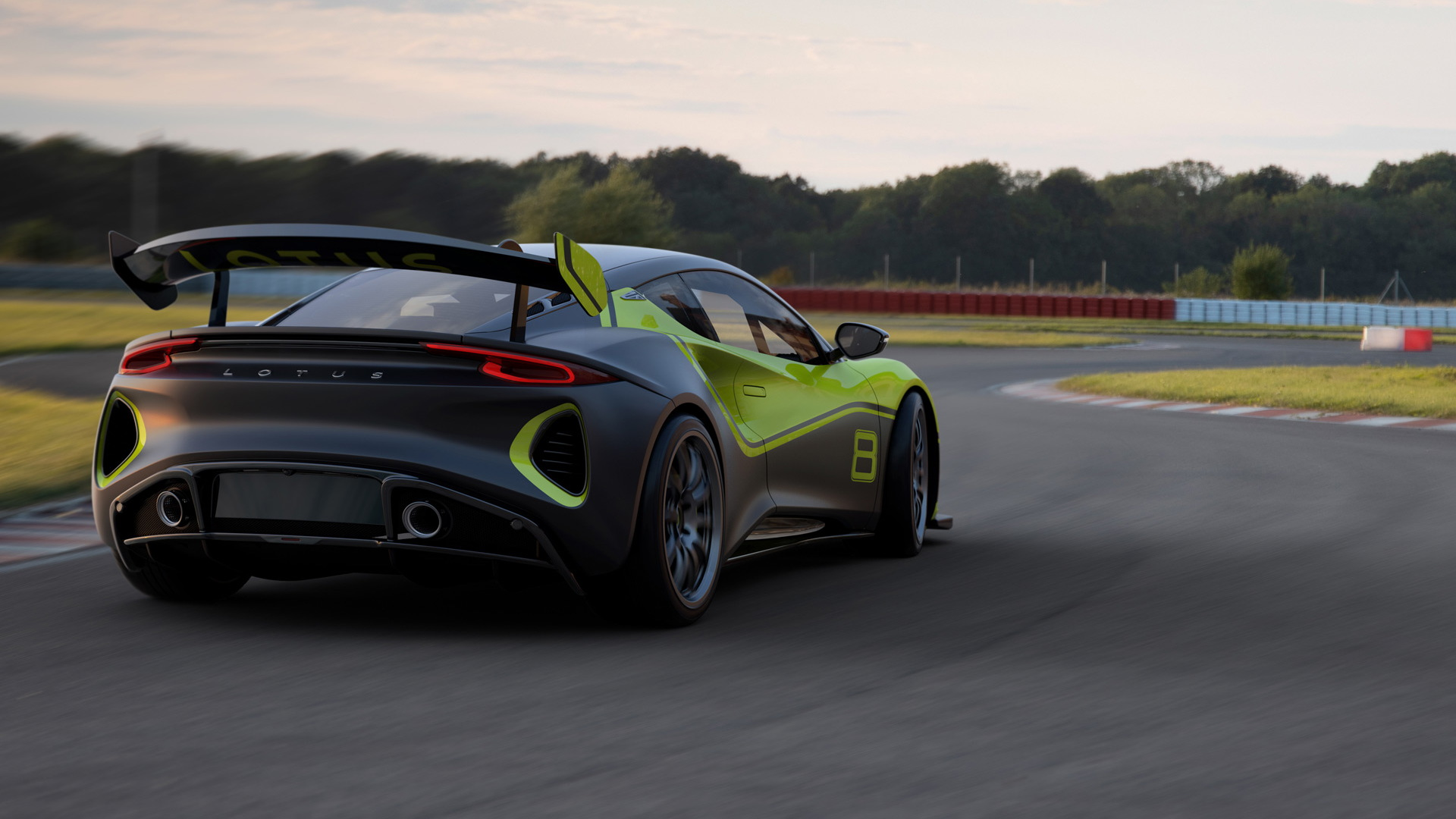 2022 Lotus Emira GT4 race car