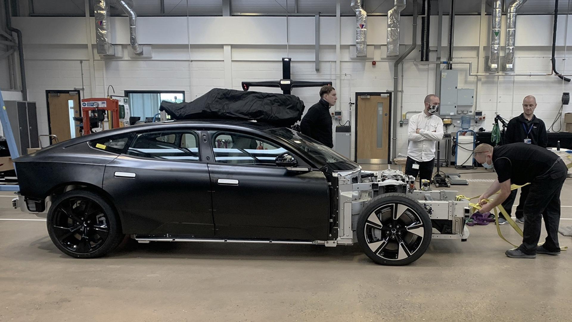 Polestar Precept prototype - September 2021