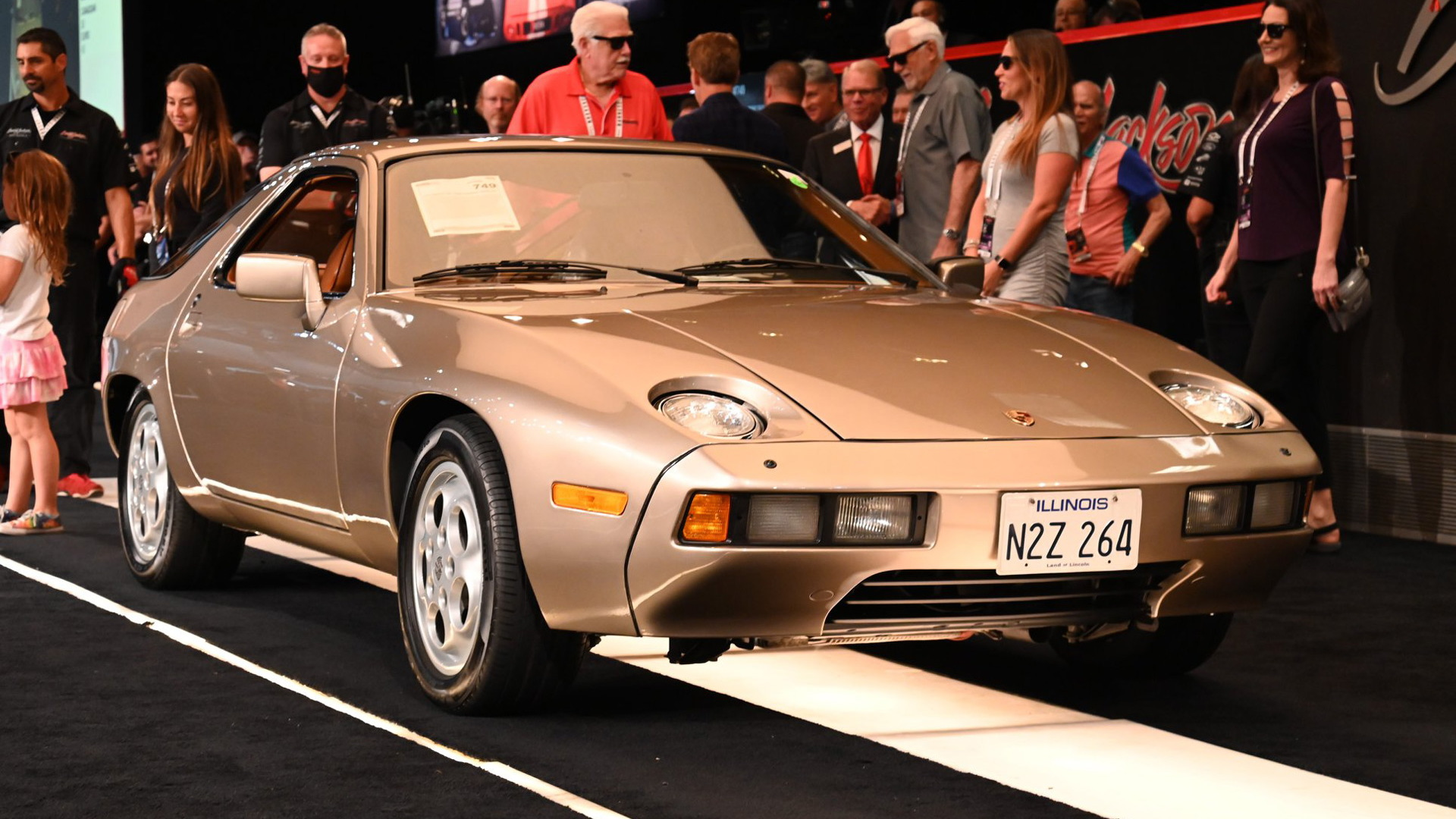 """1979 Porsche 928 used during filming of """"Risky Business"""" - Photo credit: Barrett-Jackson"""
