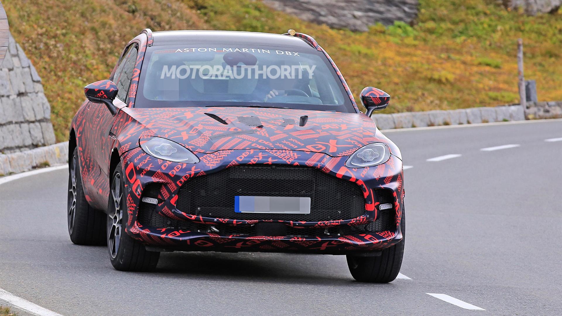 2024 Aston Martin DBX S spy shots - Photo credit:S. Baldauf/SB-Medien