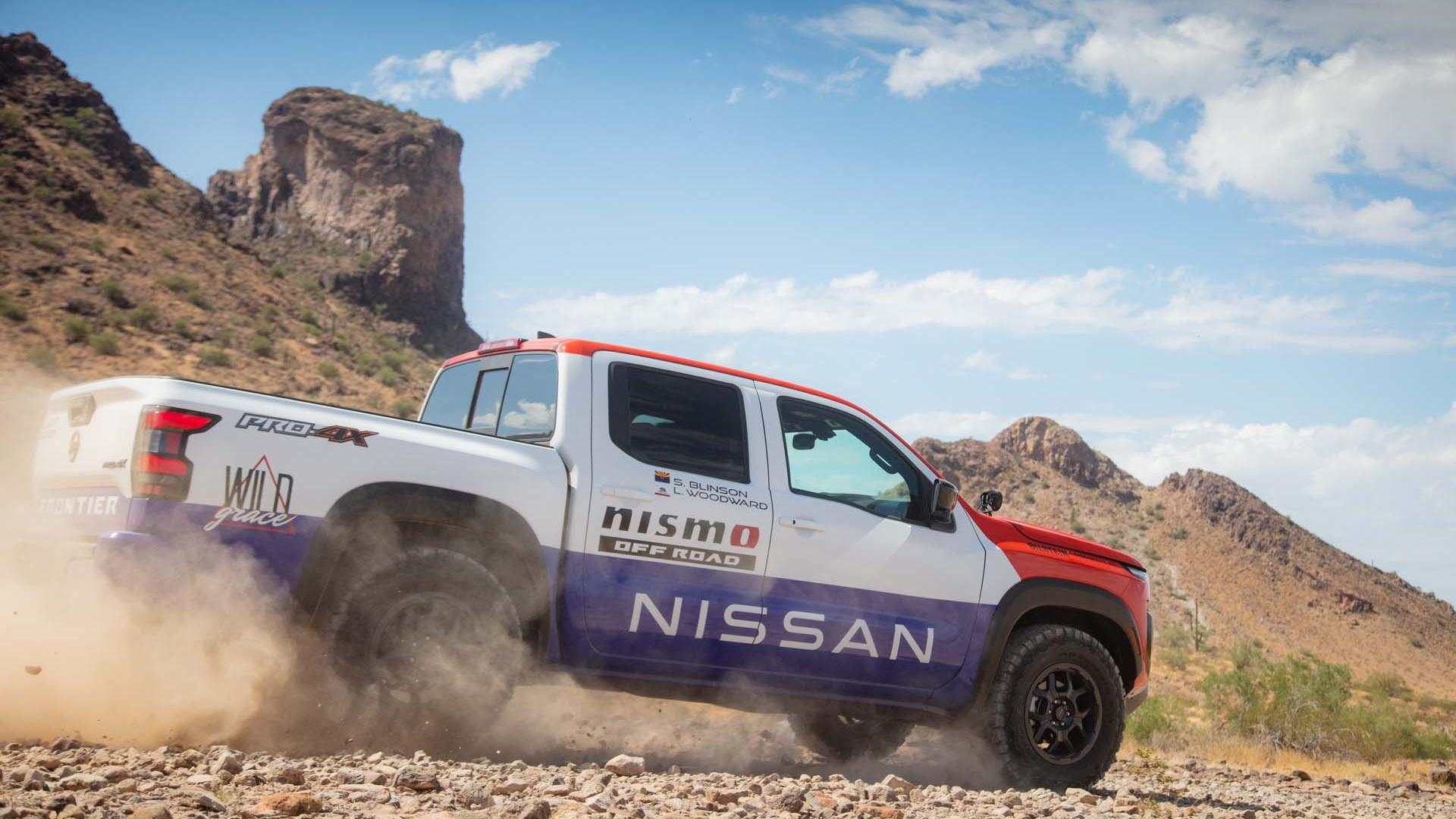 2022 Nissan Frontier Pro-4X Hardbody race truck