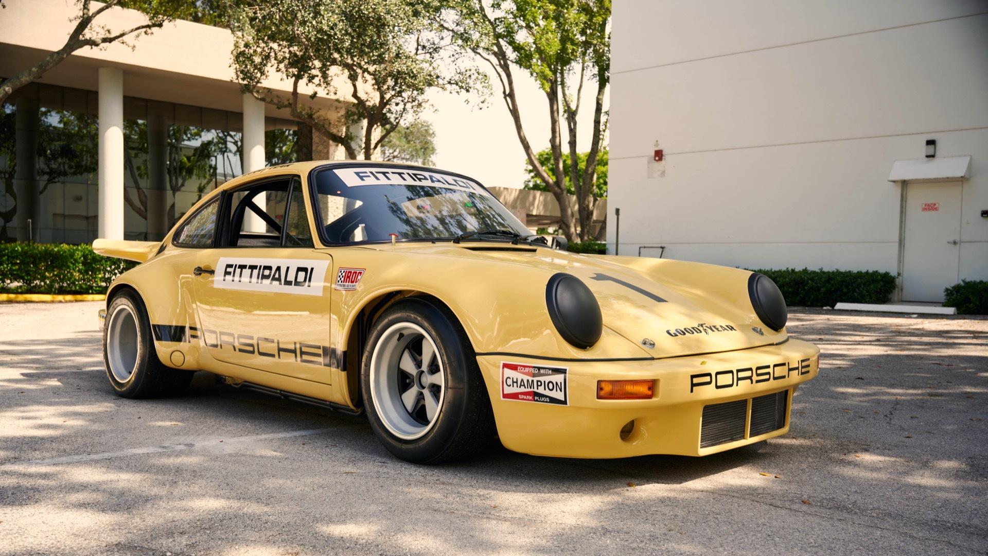 1974 Porsche 911 Carrera 3.0 IROC RSR (photo via Collecting Cars)