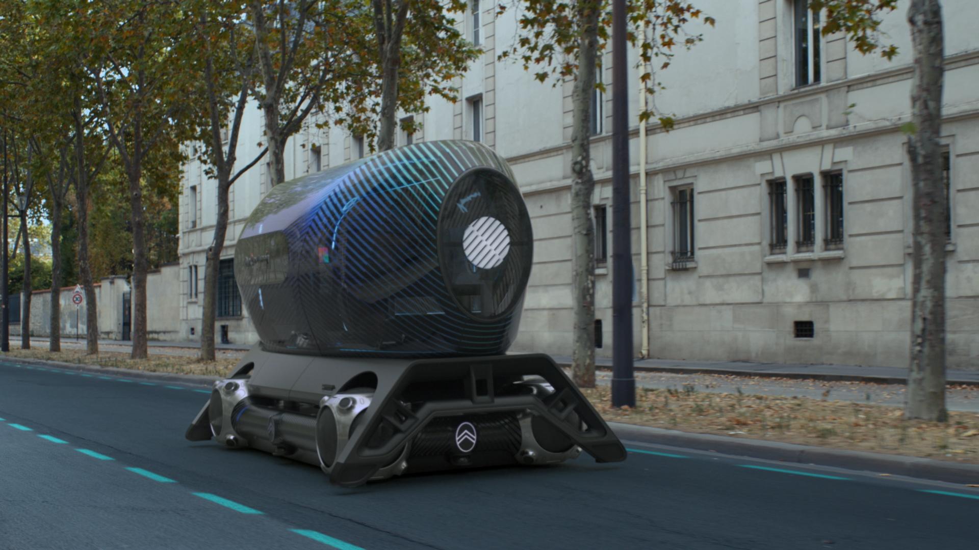 Citroën Skate modular electric concept