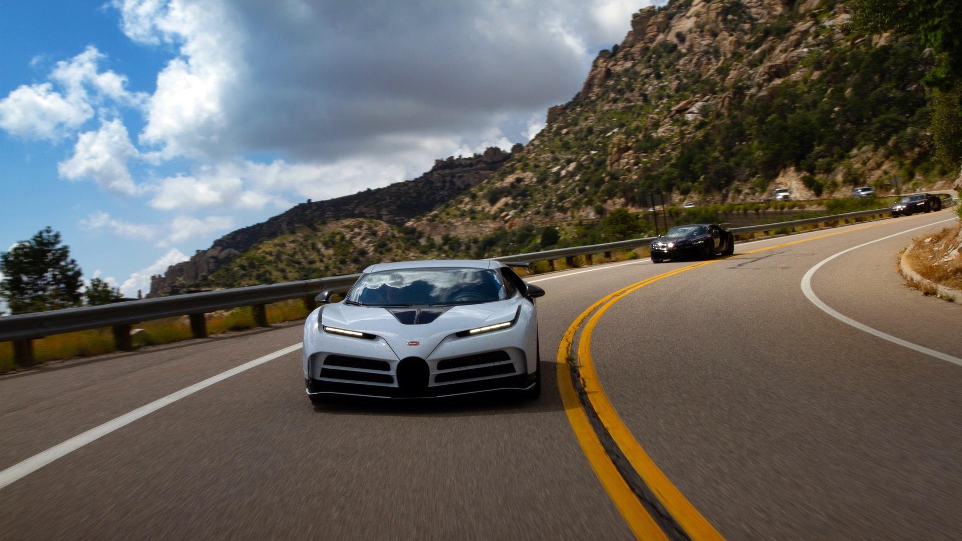 Bugatti hot weather testing