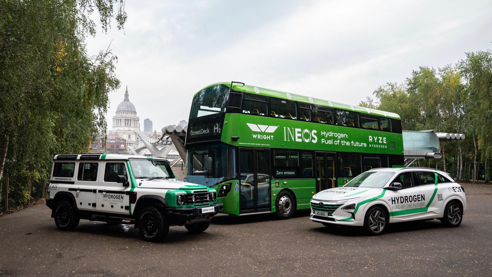 Ineos and Hyundai hydrogen advocacy campaign