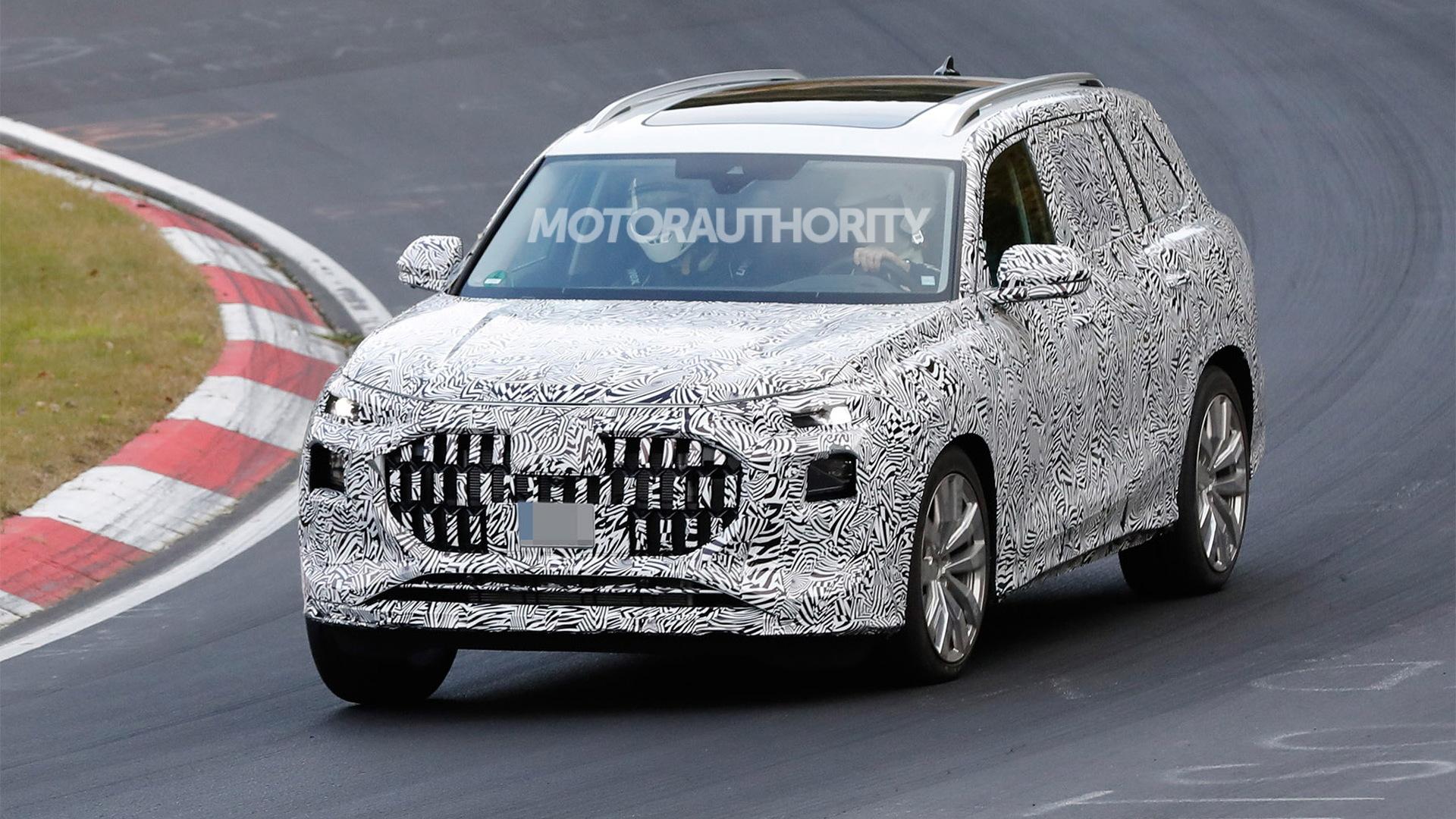 2023 Audi Q9 spy shots - Photo credit:S. Baldauf/SB-Medien