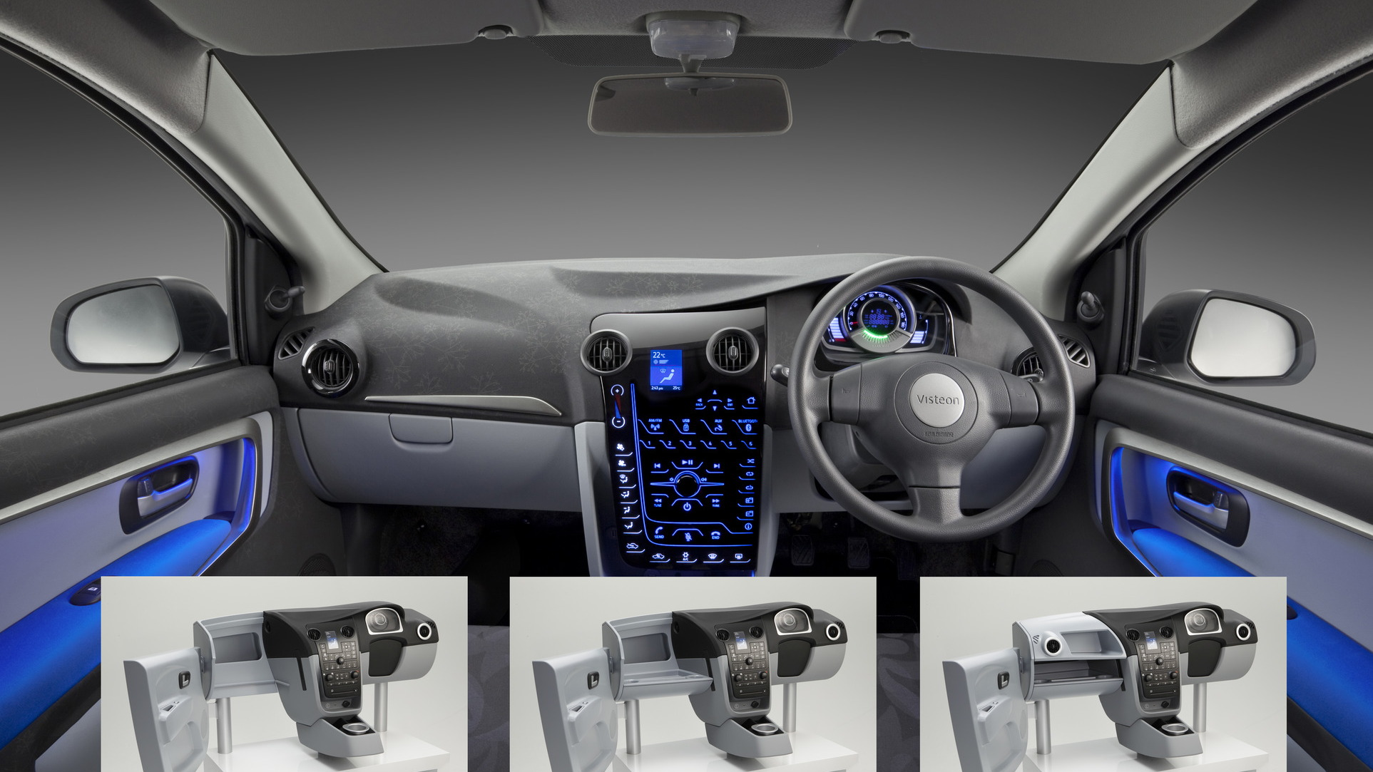 Visteon Growth Market concept car interior