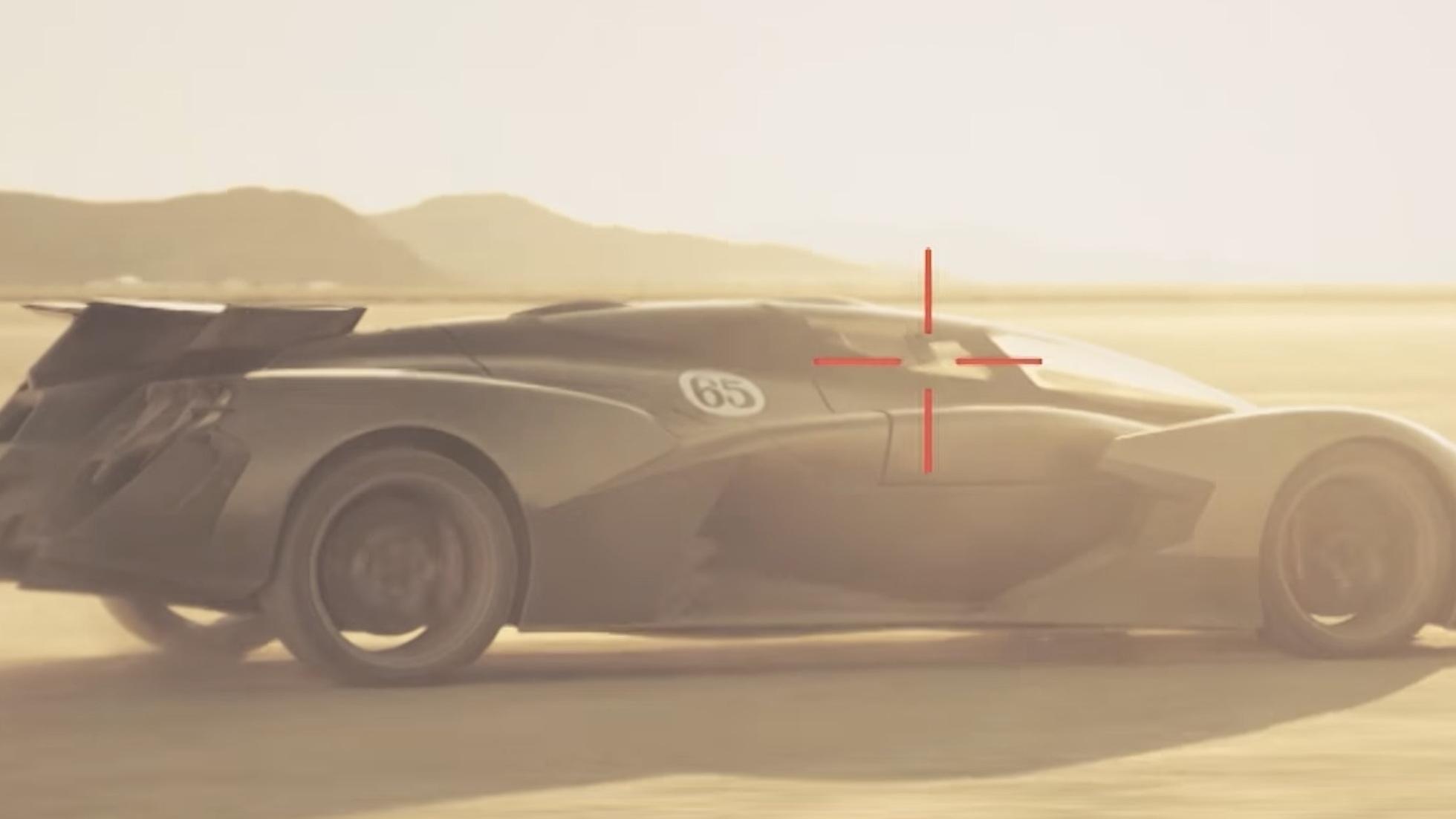Tachyon Speed all-electric hypercar