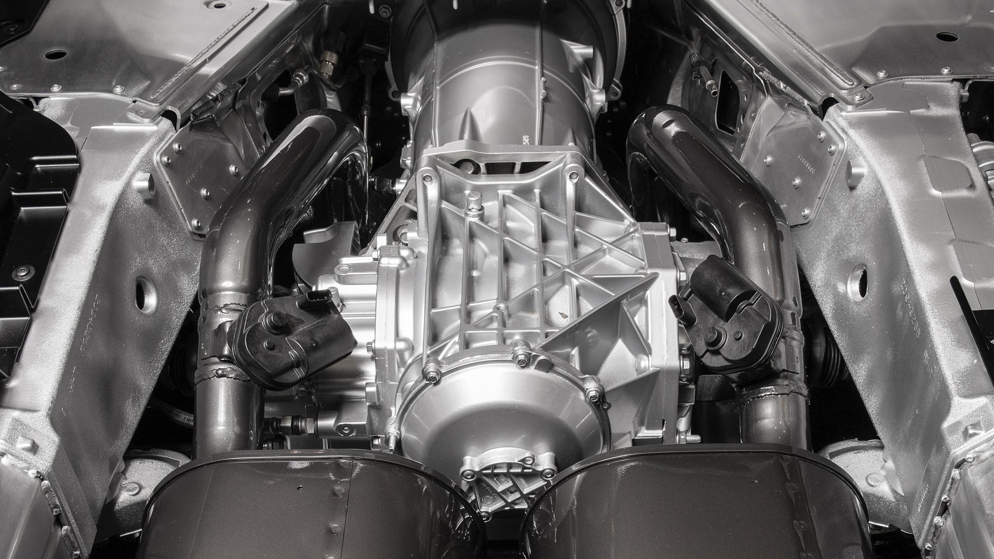 2015 Chevrolet Corvette Z06 limited-slip differential