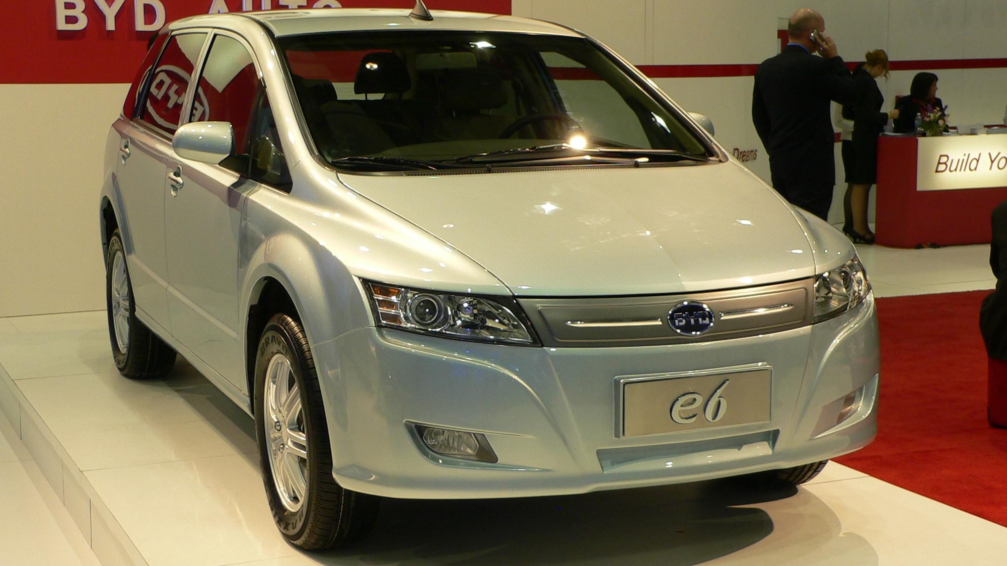 BYD e6 concept