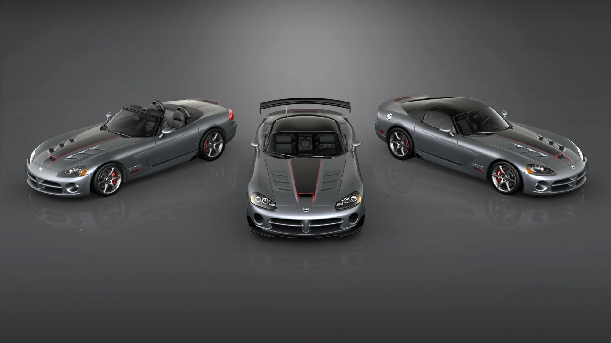 2010 Dodge Viper SRT10 Final Edition models