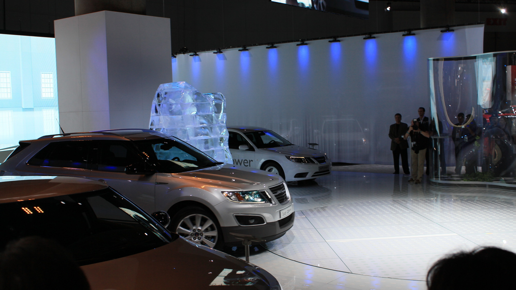 Saab 9-4X production model live photos